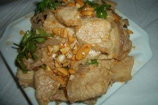 Receta de cerdo chino