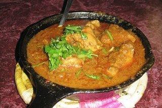 Receta de cerdo en salsa de almendras
