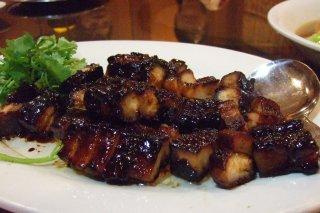 Receta de cerdo en salsa de arándanos