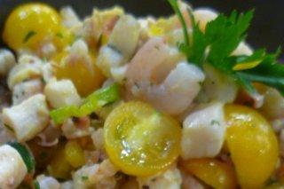 Receta de ceviche amarillo