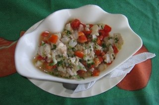 Receta de ceviche de pescado estilo sinaloa