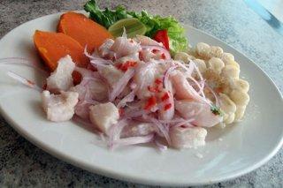 Receta de ceviche de pescado