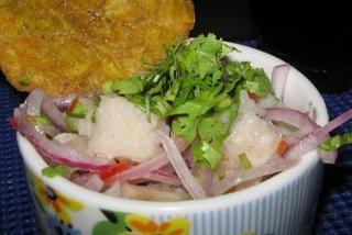 Receta de ceviche peruano