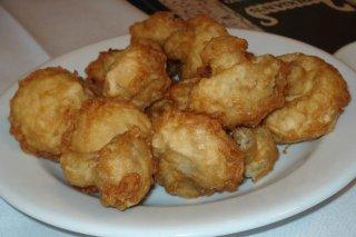 Receta de champiñones empanados