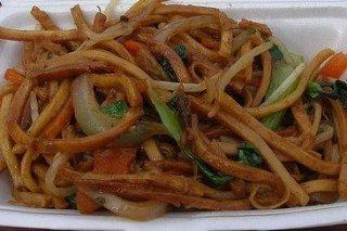 Receta de chow mein