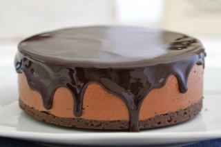 Receta de cheesecake chocolateado