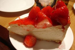 Receta de cheesecake de mascarpone, brandy y mermelada