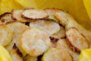 Receta de chips de calabacín