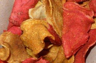 Receta de chips de verduras