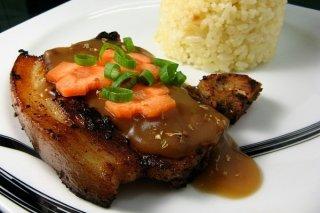 Receta de chuletas de cerdo en salsa