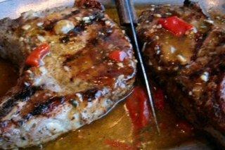 Receta de chuletas en salsa