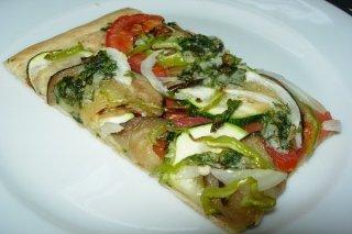Receta de coca de verduras mallorquina