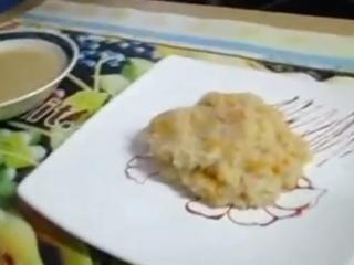 Receta de cocimiento de arroz para bebés
