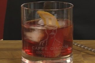 Receta de cocktail negroni