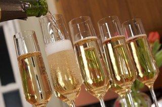 Receta de cóctel de champán