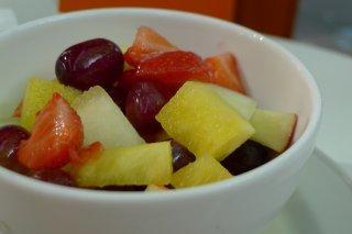 Receta de cóctel de frutas