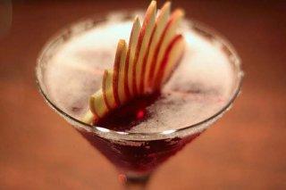 Receta de cóctel de manzana y granadina