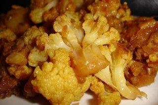 Receta de coliflor con patatas