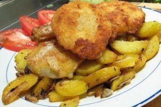 Receta de coliflor rebozada con patatas