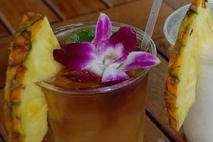 Receta de combinado perla tahitiana
