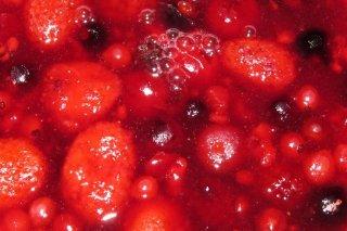 Receta de compota de frutos rojos