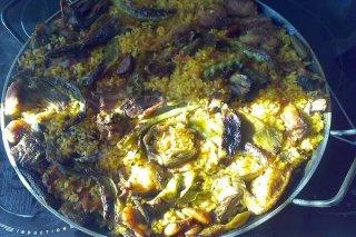Receta de conejo con arroz