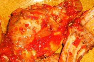 Receta de conejo en salsa de tomate