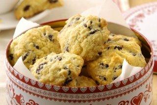 Receta de cookies de chocolate americanas