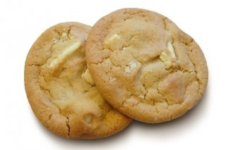 Receta de cookies de chocolate blanco