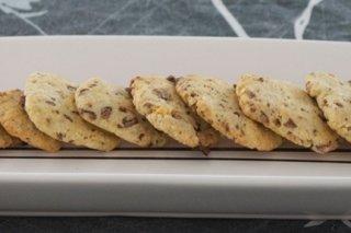 Receta de cookies de chocolate y nueces
