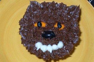 Receta de cookies de hombre lobo