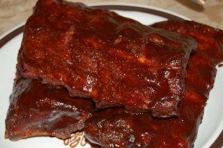 Receta de costillar al horno con salsa barbacoa