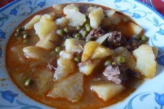 Receta de costillas con patatas
