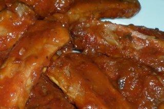 Receta de costillas con salsa de chiles