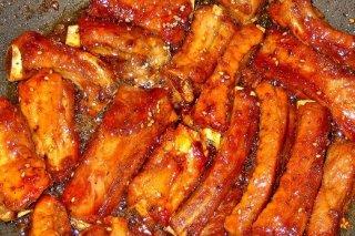 Receta de costillas de cerdo marinadas