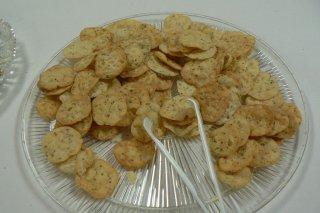 Receta de crackers al aceite de oliva