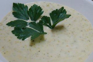 Receta de crema de brócoli y abadejo
