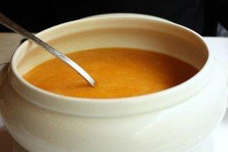 Receta de crema de calabaza con zanahoria