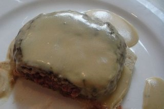 Receta de crema de queso azul