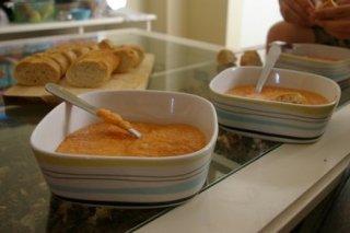 Receta de crema de tomate con queso