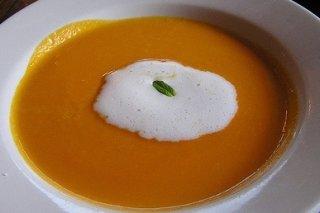Receta de crema de zanahoria y coco
