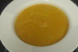 Receta de crema de zanahorias y queso