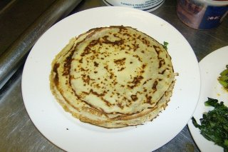 Receta de crepes light