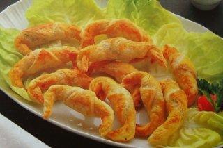 Receta de croissants al champiñón
