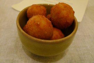 Receta de croquetas de arroz sicilianas