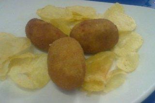 Receta de croquetas de espinacas y piñones