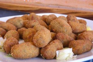 Receta de croquetas de jamón y mejillones