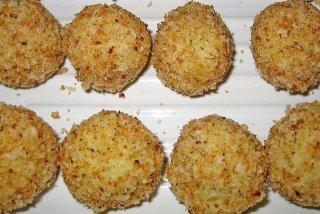 Receta de croquetas de patatas