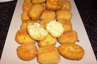 Receta de croquetas de pollo con arroz