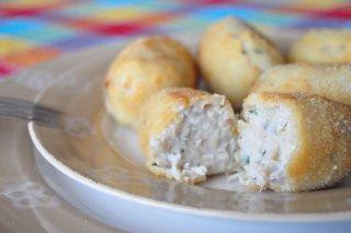 Receta de croquetas de pollo con las sobras del cocido